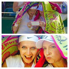 Lucie Safarova and Bethanie Mattek-Sands