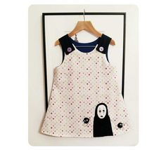 Special Edition No Face Pinafore Dress  Handmade by SewingCircus, £28.00