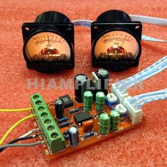 Analog Audio Level Panel VU Meter dB Meter x 2 With Driver Board Module DIY KIT | eBay