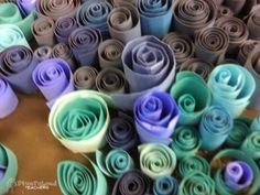 spiral paper art