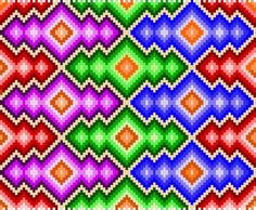 Free Amulet Bag Patterns | All colour's mentioned are just a guide change to suite yourself.: