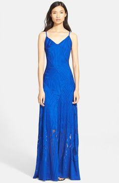 Tracy Reese Lace Overlay Maxi Dress available at #Nordstrom