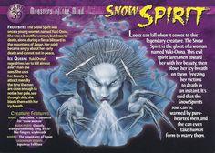 Card 39 - Snow Spirit