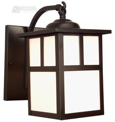Craftmade Mission Outdoor Sconce Hang $71