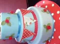 Cath kidston cake by Andrias cakes scarborough