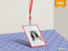 Free Corporate ID Card Mockup by ZippyPixels