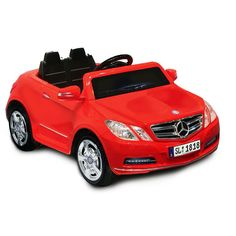 National Products Mercedes Benz E550 Ride-On, Red