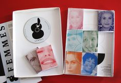 8 Femmes by Ozan Akkoyun, via Behance. A collection of tiny books based on 8 Femmes dir. Francois Ozon. (starring Catherine Deneuve, Fanny Ardant, Danielle Darrieux, Isabelle Huppert, Emmanuelle Béart, Virginie Ledoyen, Ludivine Sagnier, and Firmine Richard) I want to own this!