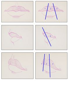 Paint Draw Paint, Learn to Draw: Drawing Basics: Drawing the Mouth and Lips