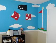 Dexter's Super Mario Bros. Nursery My Room --love love love, perfect for our video gaming fam :)---