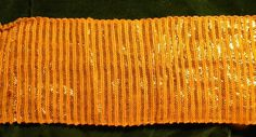 Stunning Antique French Wide Gold Metallic Linen Trim by RuinsCa, $42.00