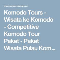 Komodo Tours - Wisata ke Komodo - Competitive Komodo Tour Paket - Paket Wisata Pulau Komodo