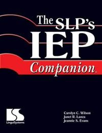 The SLP's IEP Companion-excellent reference tool for goal writing/IEPs. From Adventures in Speech Pathology. Pinned by SOS Inc. Resources @sostherapy.