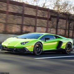 Lamborghini 50° Anniversario Edition Aventador Coupe painted in Verde Ithaca   Photo taken by: @izaacbrookphotos on Instagram (@williamkey on Instagram is the owner of the car)