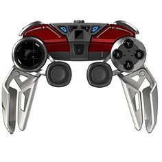 Mad Catz L.Y.N.X.9 Mobile Hybrid Controller with Bluetooth - Current price: USD $299.99 - Track it on NOTIVO.COM - #VideoGames, #MadCatzs - Mad Catz L.Y.N.X.9 Mobile Hybrid Controller with Bluetooth Technology for Android Smartphones, Tablets and PC - Gloss Red
