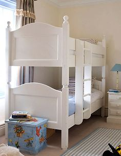 Shared Bedroom Design Ideas for Kids Small Shared Bedroom, Shared Bedrooms, Dream Bedroom, Girls Bedroom, Bedroom Ideas, White Wooden Bunk Beds, Bedroom Designs Images, Kid Beds, Bedroom Furniture
