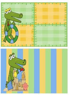 Fern Smith's Gator Beach Themed BLANK Book Bin Labels for Your Classroom Library! Use them for name tags, desk tags, center rotation charts, bulletin boards, window decorations.the ways you can use them are endless! Classroom Freebies, Classroom Themes, Classroom Organization, Organization And Management, Class Management, Book Bin Labels, Center Labels, Blank Labels, Blank Book