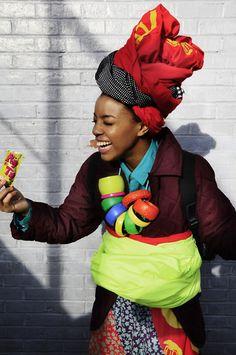 Fashion and textile designer: Kezia Frederick www.keziafrederick.com Photography: Shiba Huizer