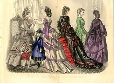 Godey's fashions for november 1870