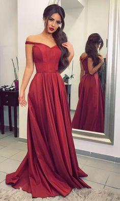 Cheap prom dresses ,burgundy bridesmaid dress,satin prom #prom #promdress #dress #eveningdress #evening #fashion #love #shopping #art #dress #women #mermaid #SEXY #SexyGirl #PromDresses