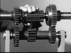The transmission in the modern motorcar -- the mechanism that makes it possible to have three forward speeds and a reverse -- is a series of levers, levers t...