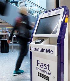 Heathrow optimiza la experiencia de los pasajeros con kioscos digitales que ofrecen contenidos de ocio - Contenido seleccionado con la ayuda de http://r4s.to/r4s