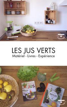 Découvrez la différence entre blender, centrifugeuse et extracteur de jus. On vous présente également 3 livres de recettes de jus verts !