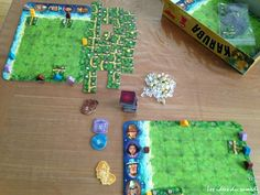 Haba Karuba carrés familles jeu jeu de société Trésor Jouet