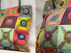 embroidery on pillows