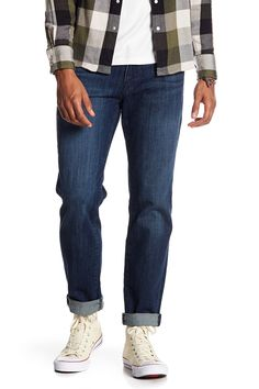 Lucky Brand Original Straight Leg Jeans - Inseam In Halite Was Man Up, Lucky Brand, Graphic Tees, Mens Fashion, Legs, Suits, The Originals, How To Wear, Clothes