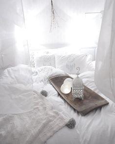 Dreamy bed @designbymirelle with bedlinen from Beach House Company - design: Dreamcatcher...