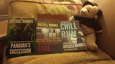 Hey, everyone. I have a few autographed copies of PANDORA'S SUCCESSION, THE DEMETER CODE, AND CHILL RUN leftover. They're $24.99US each--$59.97US for all three. (Cost of shipping included, Canada, USA only). If you want your personal autographed copy, please email me at russellbrookswriter@gmail.com  #amreading #booknerd #booknerds #booknerdigans #bookworm #bookworms #bookstagram #booklover #mommyblog #mommyblogger #housewives #mombloggers