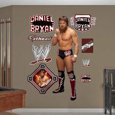 Daniel Bryan Fathead Wall Decal
