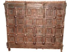 Tribal Hand Carved Wood Cabinet Chest Buffet Antique India Furniture Sideboard Asian Style Decor by Mogul Interior, http://www.amazon.com/dp/B00C17YYK2/ref=cm_sw_r_pi_dp_kDwurb02G42VK