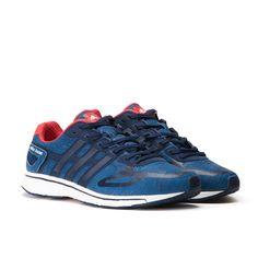 cheap for discount 9aea1 c398e adidas Adizero Adios Boost Limited (Blue   Running White   Red)
