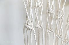 A Pair & A Spare | DIY Macrame Wall Hanging