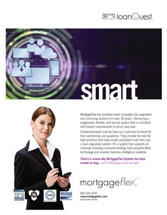 New work for MortgageFlex Systems! This is the first in a new ad series.
