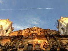 Plaza Catedral under the golden morning light