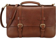 Lotuff Leather - Mens English Leather Briefcase