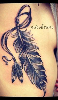 Stunning Feather Tattoo Ideas 08