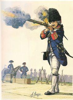 Spanish Grenadier of Cartagena de Indias