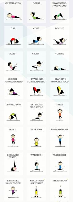 Easy Yoga Workout - 24 Yoga poses for beginners. (Fitness Workouts For Beginners) Get your sexiest body ever without,crunches,cardio,or ever setting foot in a gym Yoga Fitness, Fitness Workouts, Fun Workouts, At Home Workouts, Fitness Tips, Health Fitness, Fitness Weightloss, Fitness 24, Health Diet