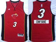 Miami Heat #3 Dwyane Wade Revolution 30 Swingman 2014 Christmas Day Red Jersey