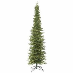 Get ready to wrap your lights and hang your ornaments on this majestic fir artificial christmas tree that comes with tree stand. Pre-Lit Artificial Christmas Tree Bixley Pencil Fir - with 400 Warm White Led Lights Green Slim Artificial Christmas Trees, Fir Christmas Tree, Led Christmas Lights, Artificial Tree, Fir Tree, Christmas Ideas, Pencil Christmas Tree, Merry Christmas, Cheap Christmas
