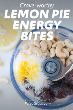 Low Carb Recipes, Whole Food Recipes, Paleo Recipes, Healthy Travel Snacks, Healthy Eats, Paleo Grubs, Paleo Diet, Fall Snacks, Lemon Muffins