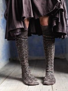 Quail    Knit these cable knee length socks from the Fine Art Collection. A design by Martin Storey using Fine Art, a premium hand painted sock yarn (merino wool, kid mohair, mulberry silk and polyamide) this knitting pattern is suitable for the average knitter.