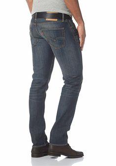 Materialzusammensetzung , Obermaterial: 99% Baumwolle, 1% Elasthan, |Material , Baumwollmischung, |Leibhöhe , niedriger, |Passform , schmal, |Taschen , Coinpocket, Eingrifftaschen, aufgesetzte Taschen, |Verschluss , Reißverschluss, |Verschlussdetails , verdeckt, |Fußweite , In Gr. 34 ca. 36 cm, | ...