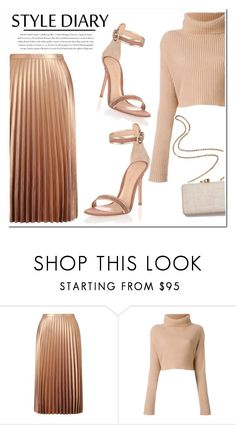 """""""Untitled #1139"""" by samha ❤ liked on Polyvore featuring Miss Selfridge, Valentino, Envi:, Gianvito Rossi and Kayu"""