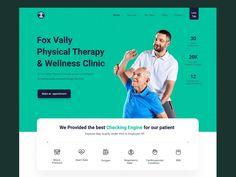Web Design Websites, Web Design Tools, Homepage Design, Web Design Agency, Ui Design, Interface Design, Identity Design, User Interface, Wellness Clinic