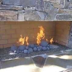 Goodness Gracious! Gas Fireball set for a large outdoor fireplace. . . #fall #fireballs #outdoorroom #fireplace #goals #gaslogs #patiolife #backyard #gathering #luxuryhomes #customhomes #greatballsoffire
